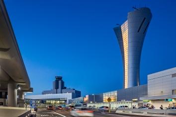 Walter P Moore Air Traffic Control Tower and Integrated Facilities Building at San Francisco International Airport